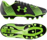 Under Armour Big Boys' Synthetic Leather Boots 5 UK