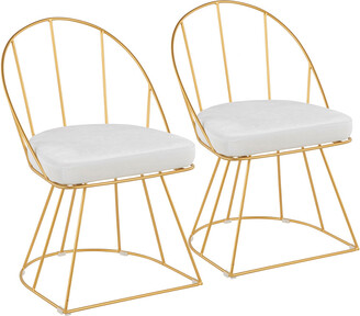 Lumisource Set Of 2 Canary Dining Chairs