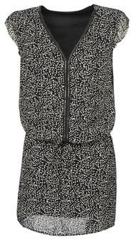 Ikks BQ30165-03 women's Dress in Black