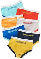 Old Navy Occupation-Graphic Underwear-Brief 7-Pack for Toddler Boys
