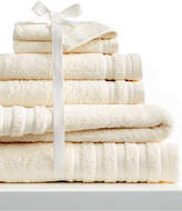 Baltic Linens 6-Pc Pure Elegance Bath Towel Set, 100% Turkish Cotton, Pure Elegance Bedding