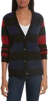 Equipment Women's Shelly Stripe Cashmere Cardigan
