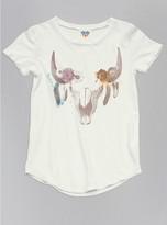 Junk Food Clothing Toddler Girls Skull Tee-sugar-2t