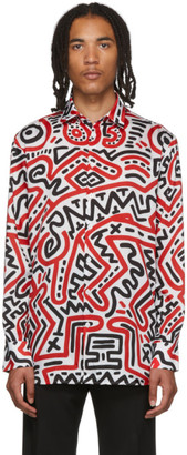 Études Multicolor Keith Haring Edition All Over Reflet Shirt