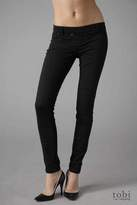 By Daryl K Pull On Stretch Twill Pants in Black