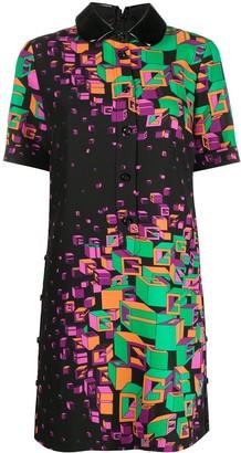 Gucci Logo-Print Short Dress