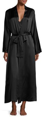 Christine Lingerie Bijoux Long Silk Robe