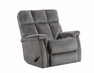 Lane Furniture Alsache Power Recliner Lane Furniture Upholstery Color: Steel, Reclining Type: Manual, Motion Type: Wallsaver with Heat & Massage