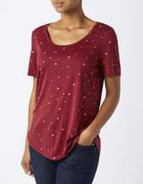 Monsoon Pegasus Glitter Star Print T-Shirt