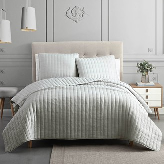 Riverbrook Home Moonstone 3-Piece Quilt Set and Shams