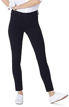 NYDJ Marilyn Straight-Leg Jeans in Black