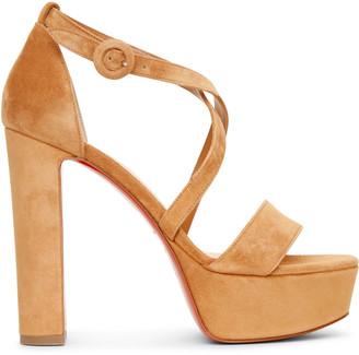 Christian Louboutin Loubi Bee Alta sandals