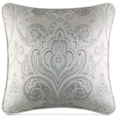 "J Queen New York Romance Spa Embroidered 18"" Square Decorative Pillow"