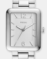 Fossil Atwater Silver-Tone Analogue Watch