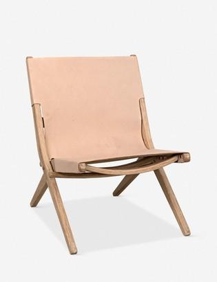 Lulu & Georgia Kanti Leather Accent Chair
