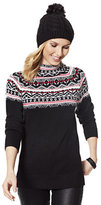 New York & Co. Embellished Fair Isle Sweater