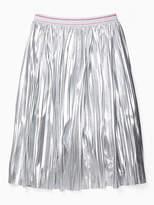 Kate Spade Girls metallic skirt