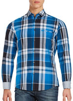 HUGO BOSS Plaid Sportshirt