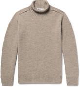 Margaret Howell Mélange Wool Rollneck Sweater