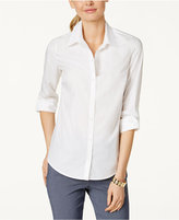 Charter Club Tab-Sleeve Shirt, Only at Macy's