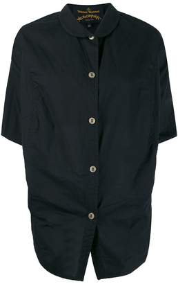 Vivienne Westwood draped button shirt