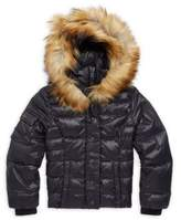 S13/Nyc Little Girl's Faux Fur-Trimmed Puffer Jacket
