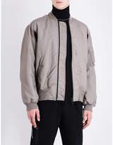 Marcelo Burlon County of Milan Graphic-print shell bomber jacket