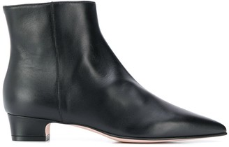 RED Valentino RED(V) pointed toe ankle boots