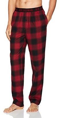 Ben Sherman Men's Flannel Logo Pant