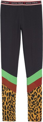 Scotch R'Belle Colorblock Leggings