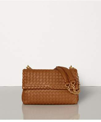 Bottega Veneta Small Olimpia Bag In Intrecciato Nappa