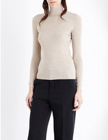 Joseph Turtleneck ribbed cashmere jumper