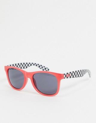 Vans Spicoli 4 sunglasses in coral