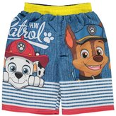 "Paw Patrol Little Boys' Toddler ""Striped Fence"" Swim Trunks"