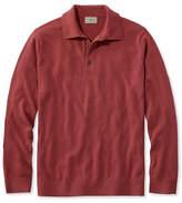 L.L. Bean Cotton/Cashmere Sweater, Polo Long-Sleeve