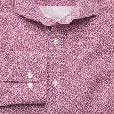Charles Tyrwhitt Slim fit pink all over spot print shirt