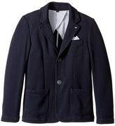 Armani Junior Pocket Square Blazer Boy's Jacket