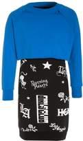 Replay 2IN1 Summer dress bluette