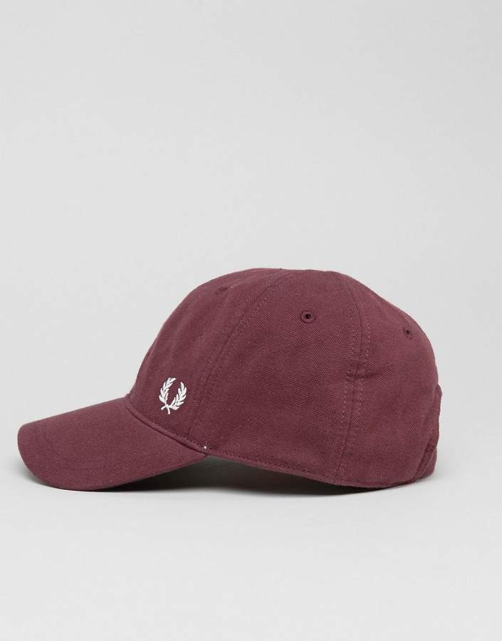 Fred Perry Pique Logo Cap Port