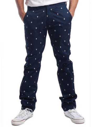 Springfield Classic Anchor Pant Navy