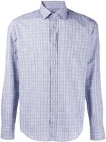 BOSS Checked Regular-Fit Shirt