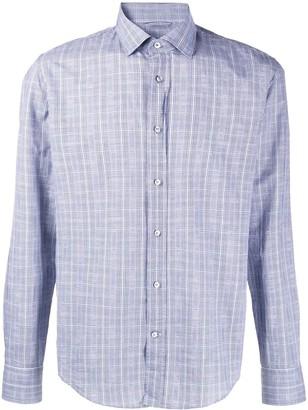 HUGO BOSS Checked Regular-Fit Shirt