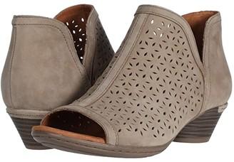 Cobb Hill Laurel Open Boot (Taupe) Women's Shoes
