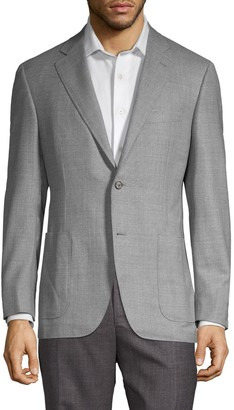 Canali Textured Wool Sportcoat
