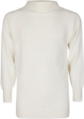Maison Margiela White Wool Jumper