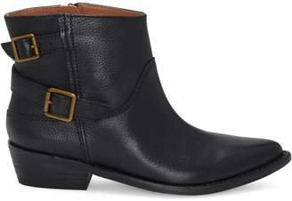 Lucky Brand Caelyn Textured Leather Booties