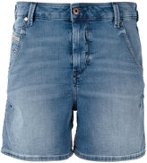 Diesel denim shorts - women - Cotton/Polyester/Spandex/Elastane - 23