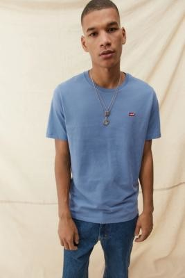 Levi's Short Sleeve Original Tee - Blue S at Urban Outfitters
