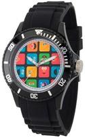 Sesame Street Unisex Unisex Black Plastic Watch - Black