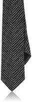 Givenchy Men's Zebra-Stripe Jacquard Necktie